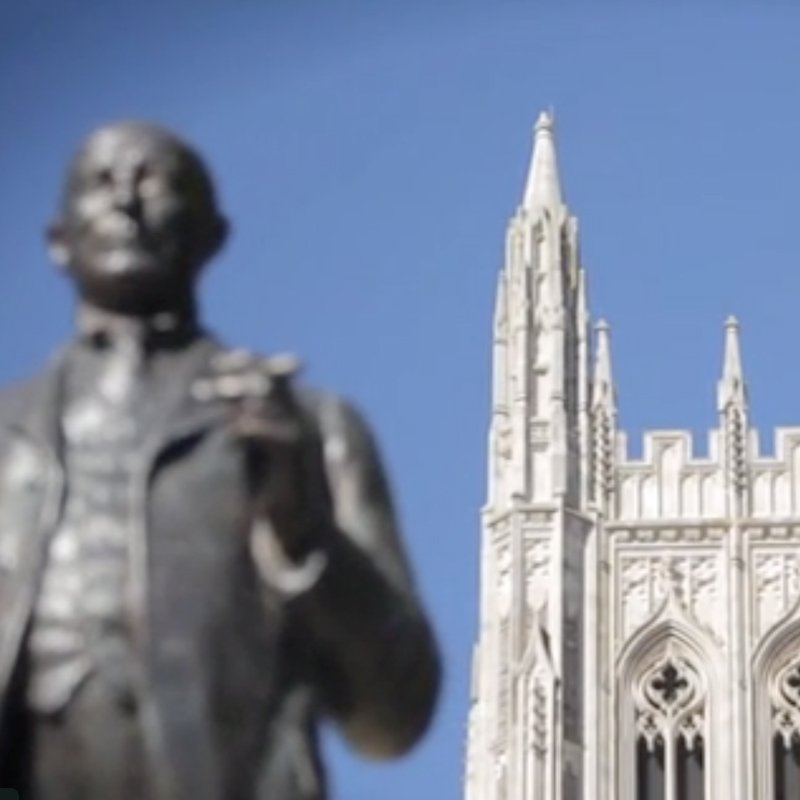 <b>Teach People How To Think</b><br>Duke University